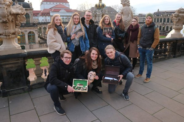 Outdoor Escape Room Dresden Gruppe
